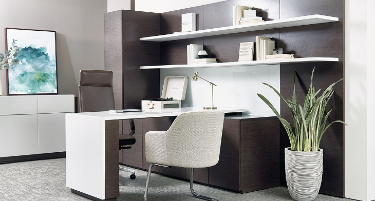 17+ Corner Office Desk Designs, Ideas | Design Trends - Premium PSD ...