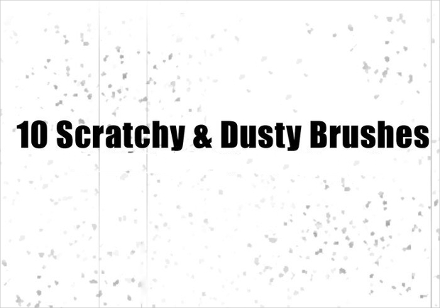 Modern Dust and Scratches Brushes