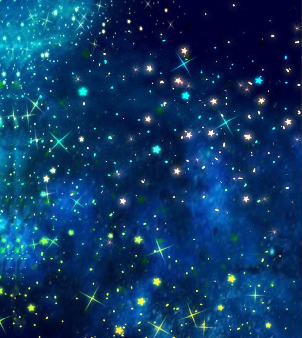 star dust scatter brush