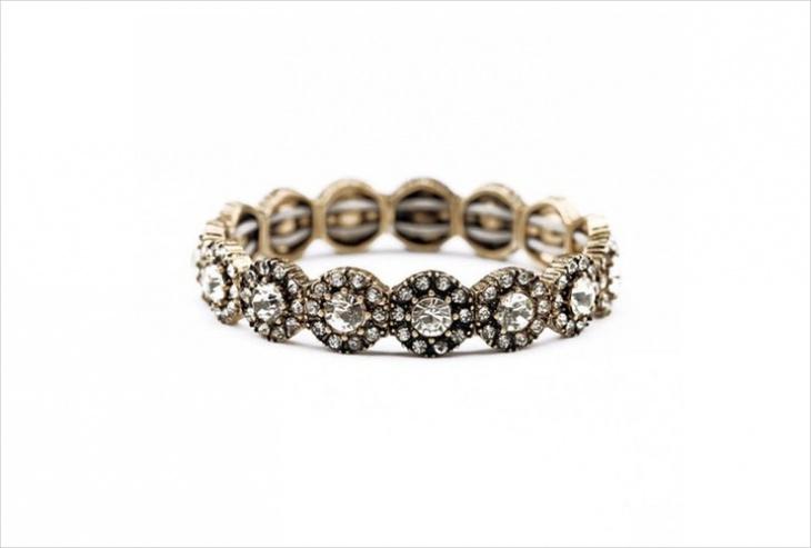 vintage daisy bracelet