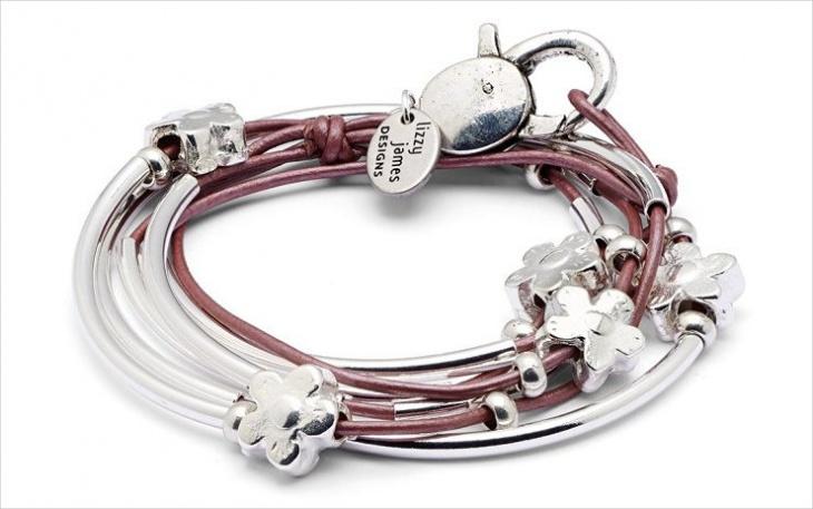 daisy wrap bracelet