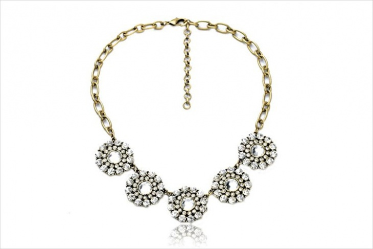 daisy crystal bracelet