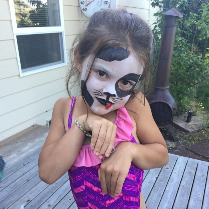 puppy makeup for kids