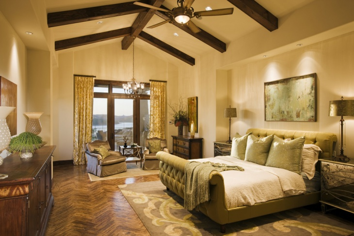 tuscan master bedroom design
