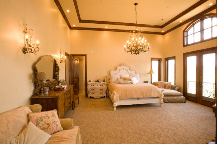 mediterranean tuscan bedroom design