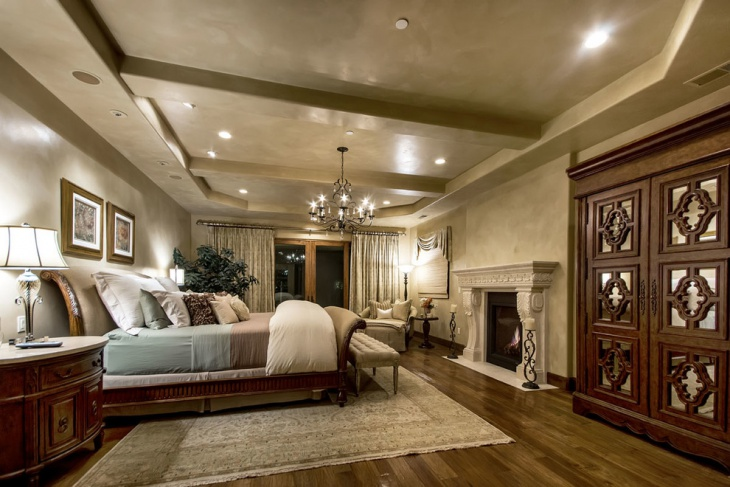 Tuscan Villa Bedroom Idea