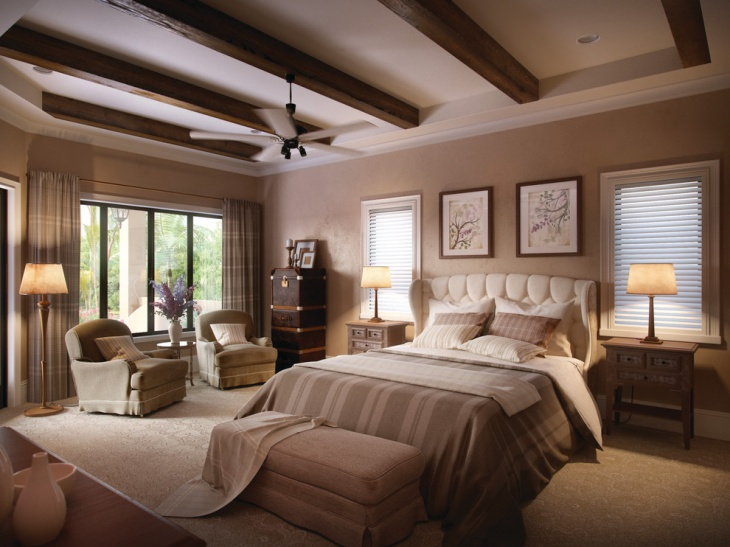 luxury tuscan bedroom