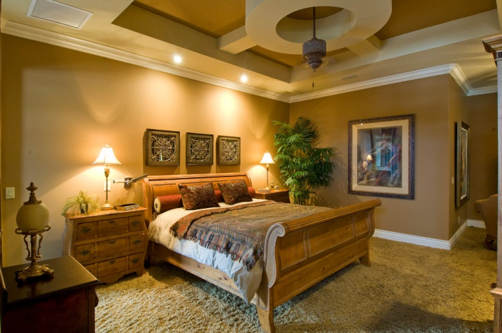 Trendy Tuscan Bedroom Design