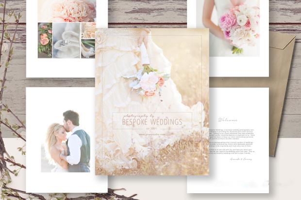 Wedding Welcome Magazine Design