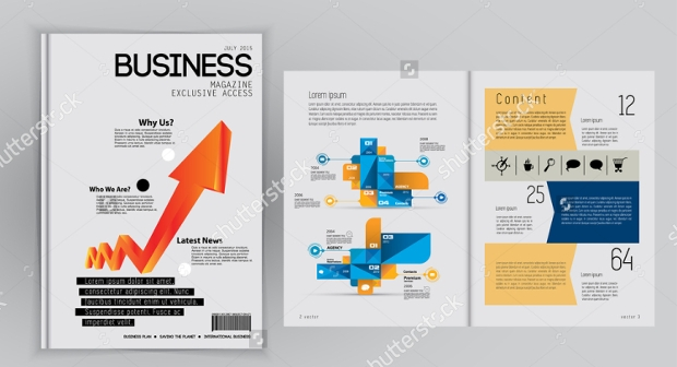 small business magazine design