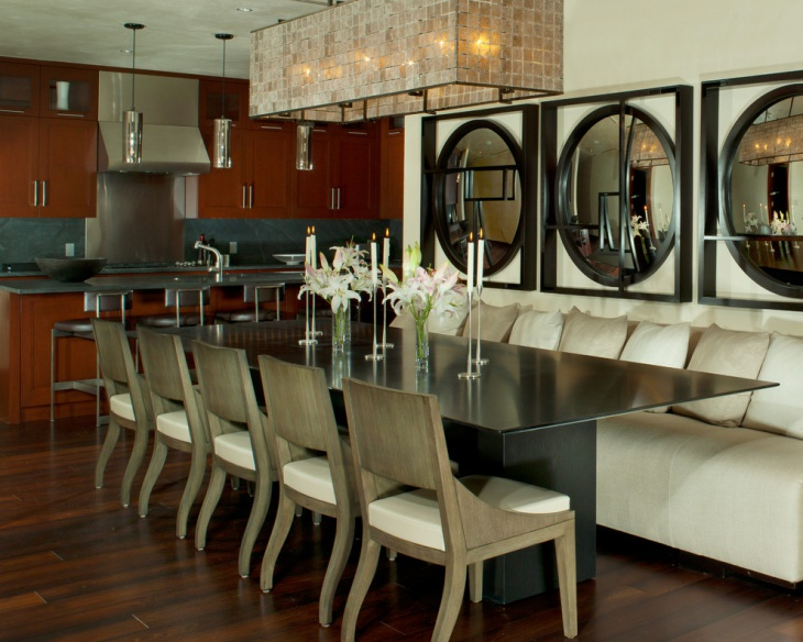 Modern Restaurant Dining Room Design