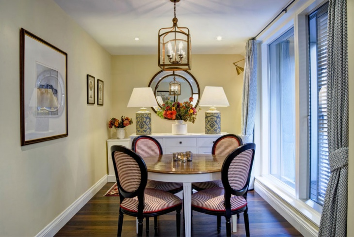 Small Traditional Dining Room Design