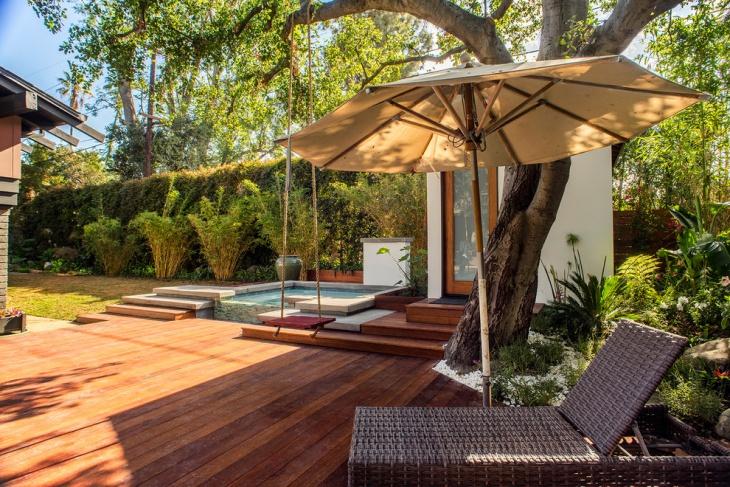 Craftsman Ground Floor Deck Design