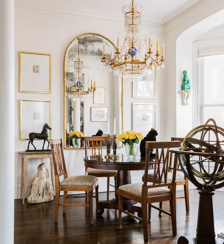 Classic Apartment Dining Room