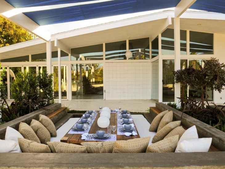 Modern Outdoor Dining Room Design