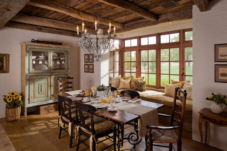 French Country Dining Room Design Idea