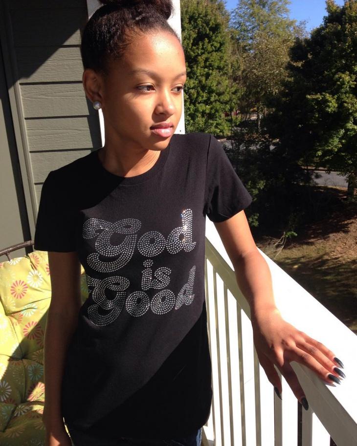Trendy Rhinestone T Shirt Idea