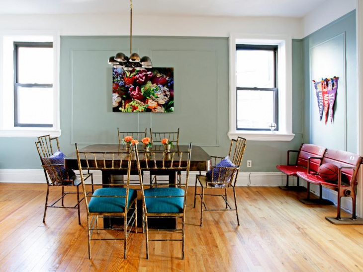 Vintage Eclectic Dining Room Design
