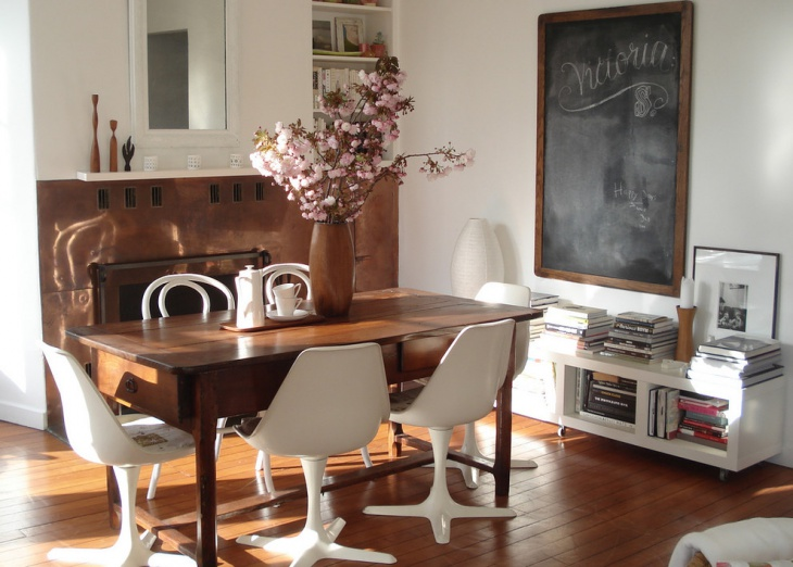 Great Small Vintage Style Dining Room