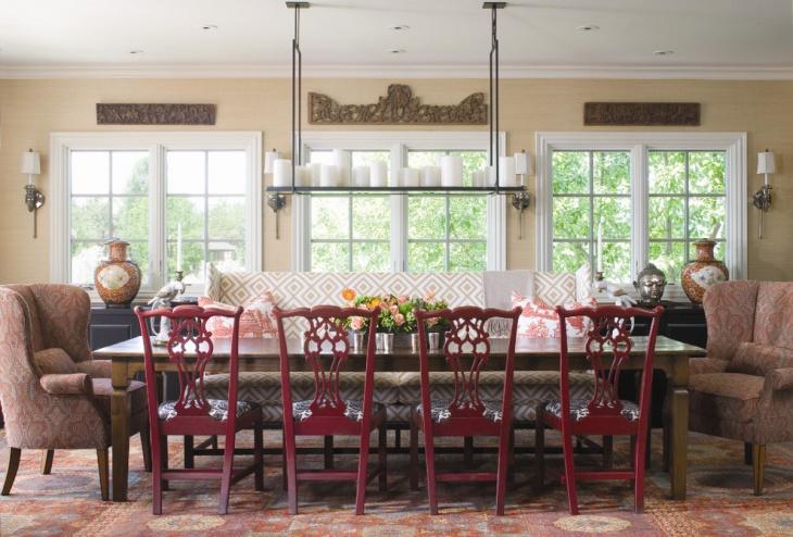 vintage dining room furniture design