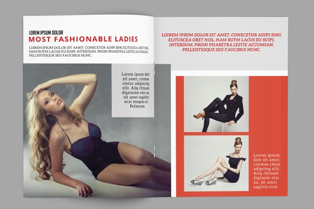 fashion photography magazine design