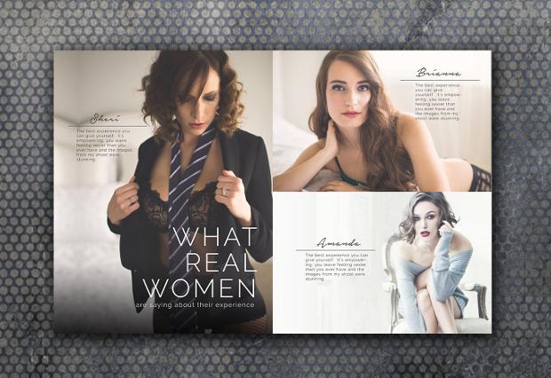 photography marketing magazine design