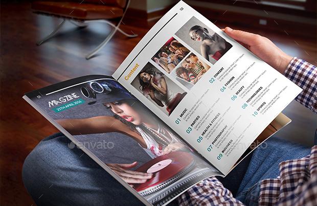 multipurpose business magazine design