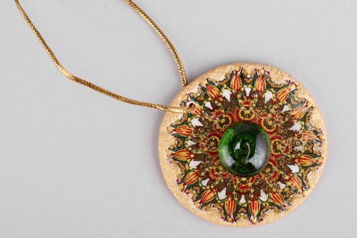 vintage eco friendly pendant