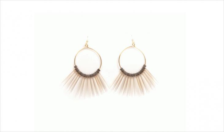 cool eco friendly earrings