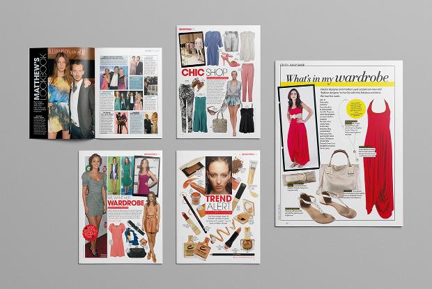 womens lifestyle magazine design