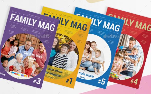 family indesign magazine