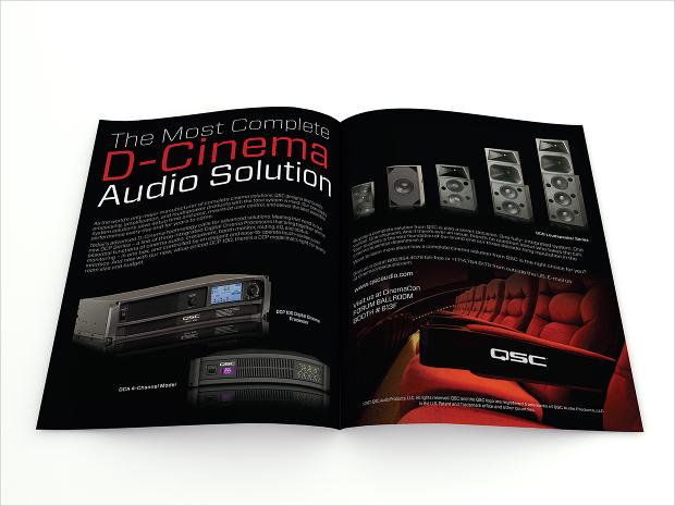 electronics product magazine design