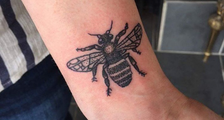 Honey Bee Tattoo Meaning The Best Bee Of 2018