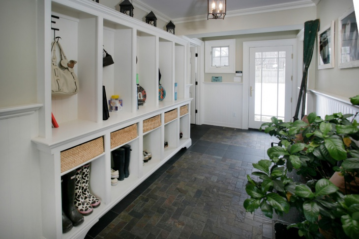 20 entryway flooring designs ideas design trends for Mudroom floor