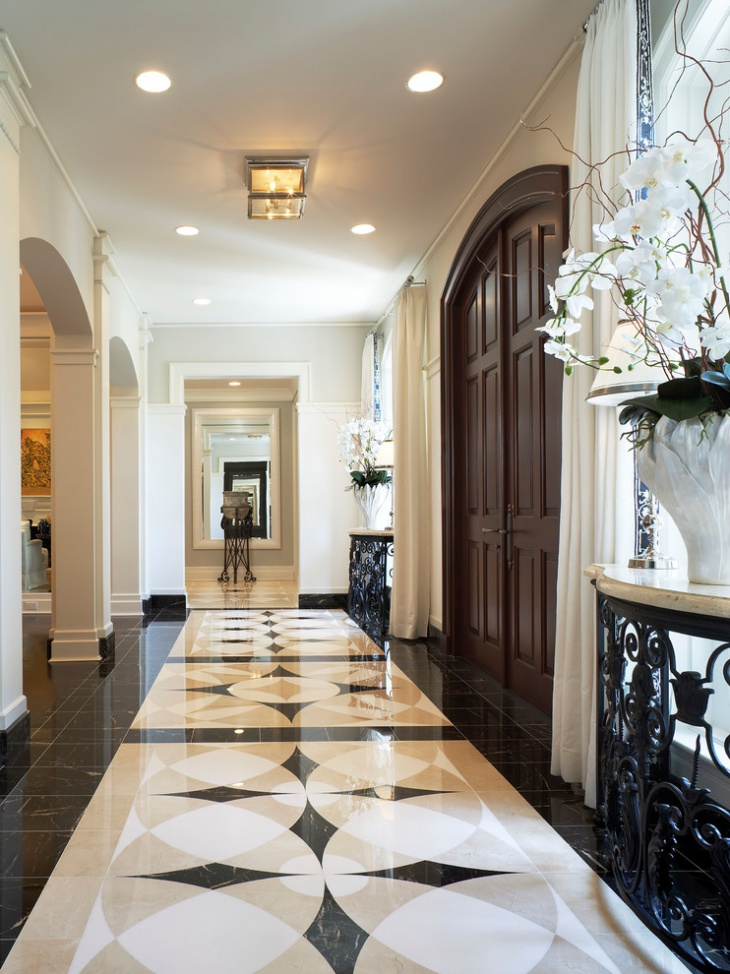 20 entryway flooring designs ideas design trends for Mansion foyer designs