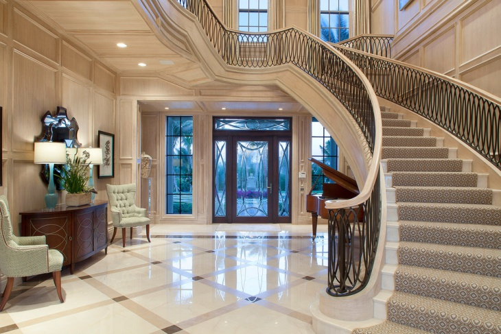 Limestone Foyer Flooring : Entryway flooring designs ideas design trends