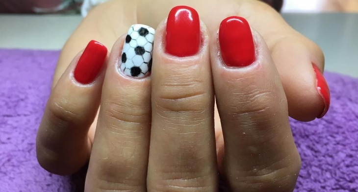 img. Football ... - 21+ Football Nail Art Designs, Ideas Design Trends - Premium PSD