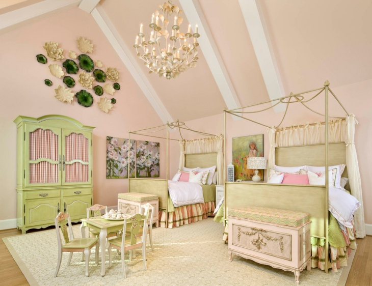 Tween Bedroom with Beautiful Interior