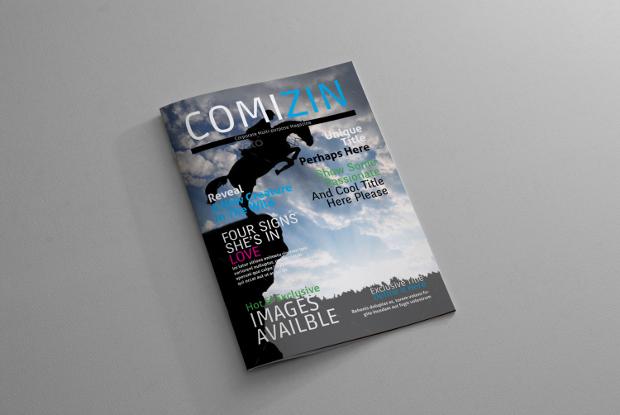 indesign corporate magazine design