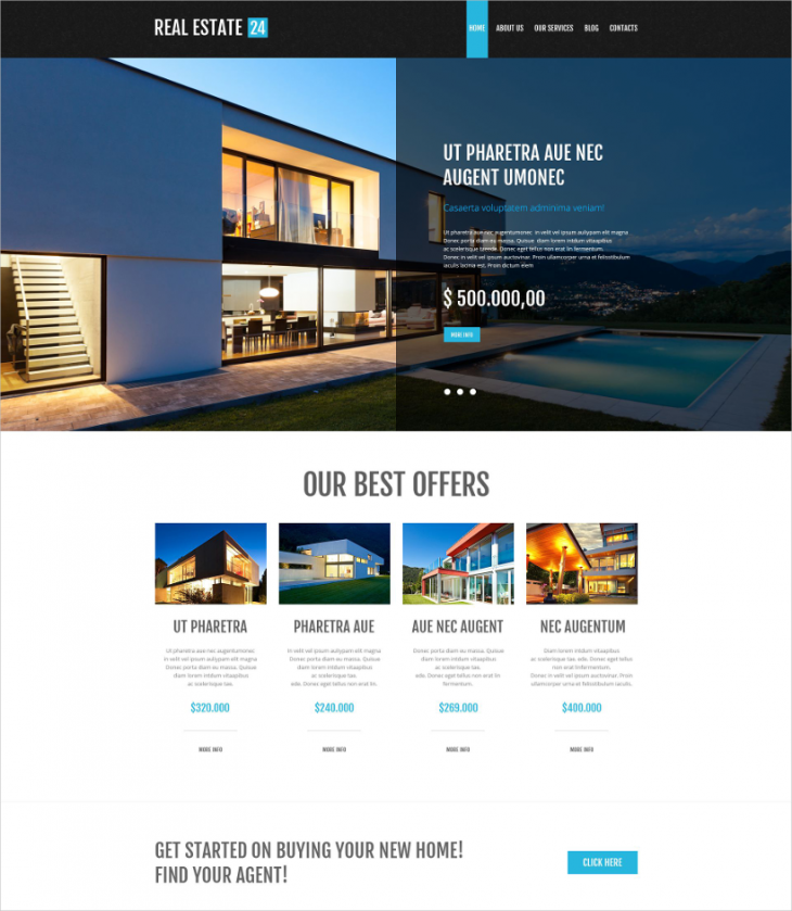 WordPress Realtor Theme