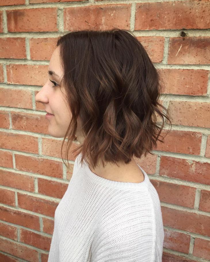 textured bob haircut idea