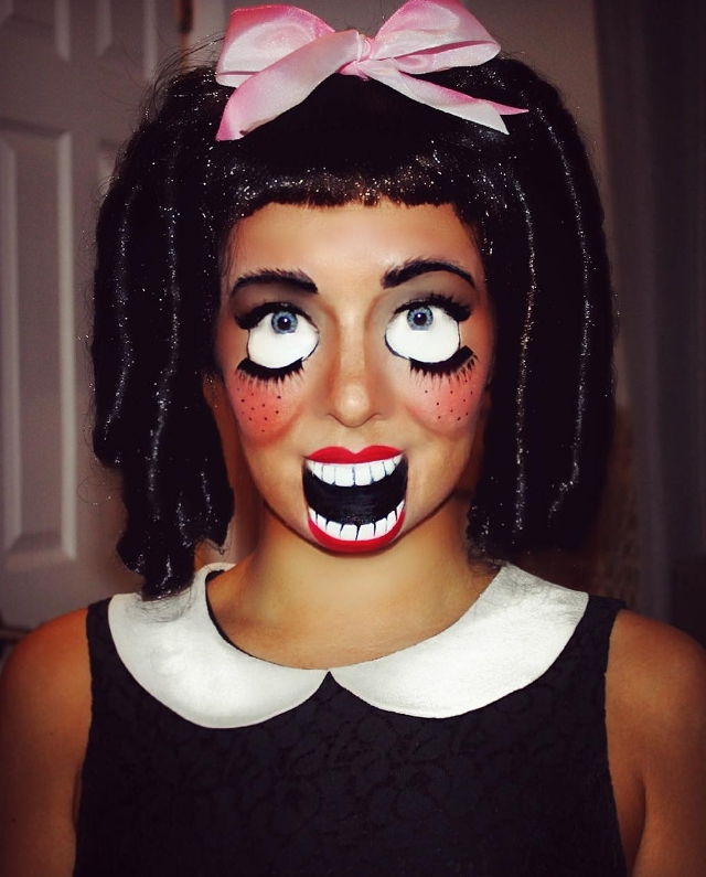 Creepy Ventriloquist Makeup