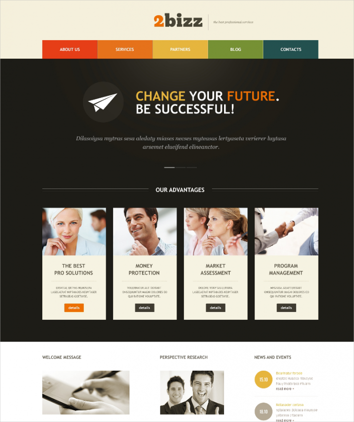 WordPress Theme for Marketing Agency