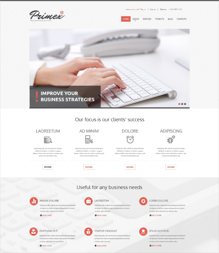 Responsive Marketing Agency Theme