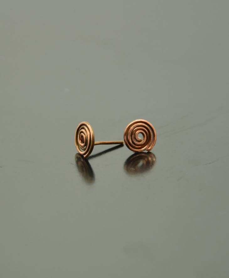 Spiral Swirl Earrings