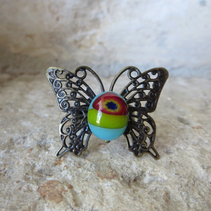 Unique Butterfly Ring Idea