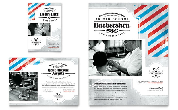 Simple Barbershop Flyer