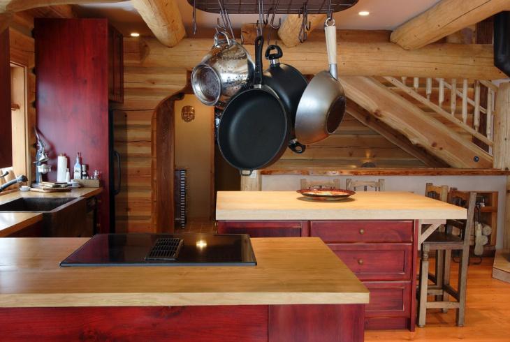 Vintage Wood Kitchen Cabinets