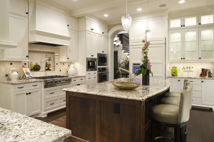 Trendy Vintage Kitchen Cabinet