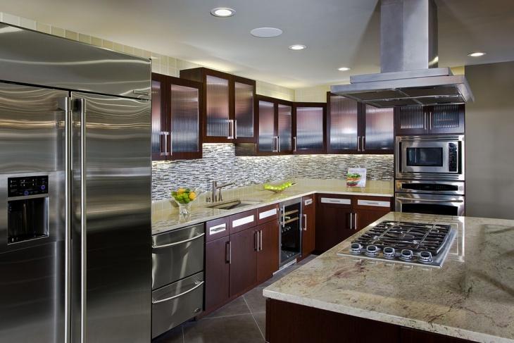 Unique Vintage Kitchen Cabinet Idea